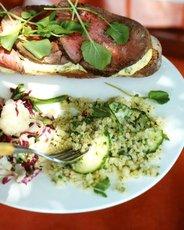 Quinoa Salad with Cucumber