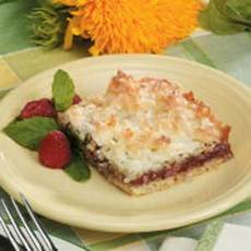 Raspberry Jam Bars Recipe