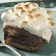 S'more Ice Cream Pie Recipe