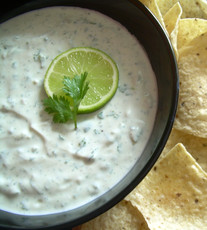 (Almost) Chuy's Creamy Jalapeno Dip