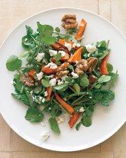 Watercress Salad with Roasted Sweet Potatoes