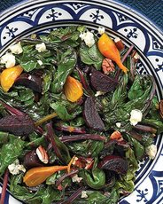 Roasted-Beet Salad with Blue Cheese