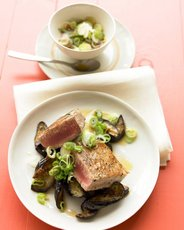 Seared Asian Tuna Steaks