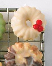 White-Chocolate-Glazed Cookies