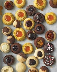 Thumbprints and Ball Cookies