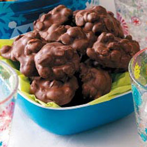 Chocolaty Peanut Clusters Recipe