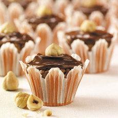 Chocolate-Hazelnut Brownie Bites Recipe