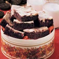 Cookies N Cream Brownies Recipe