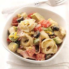 Caesar Tortellini Salad Recipe