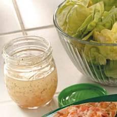 Celery Seed Vinaigrette Recipe