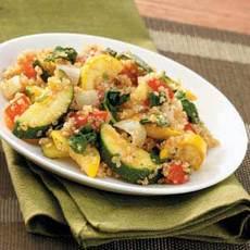 Quinoa Squash Pilaf Recipe