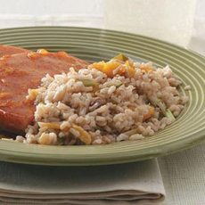 Brown Rice Pilaf Dish Recipe