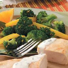 Gingered Yellow Pepper 'n' Broccoli Recipe