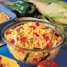 Colorful Corn Recipe