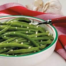 Quick Garlic Green Beans Recipe