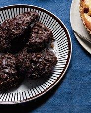 Flourless Chocolate-Macadamia Cookies