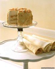 Almond Crunch Ice Cream Cake