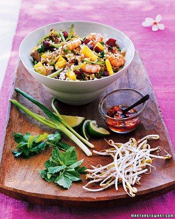 Fried Jasmine Rice with Pineapple, Shrimp, and Pork | Bottomless Bites