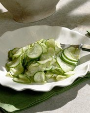 Ginger Cucumber Salad