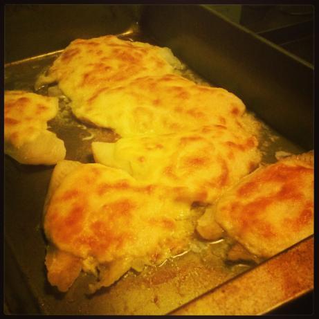Parmesan Broiled Flounder