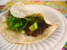 "Vegan Lentil Taco ""Meat"""