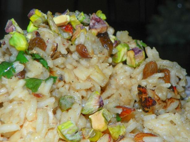 Golden Saffron and Cardamom Spiced Chicken & Rice Pilau
