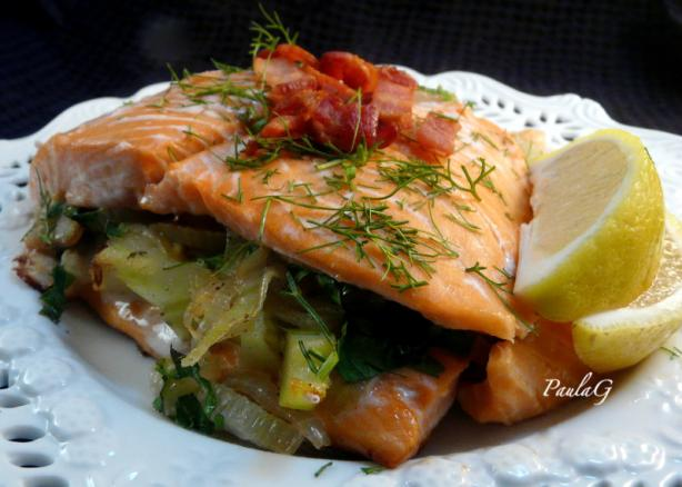 Trout With Fennel