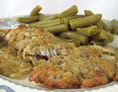 Baked Flounder Parmesan