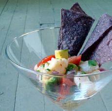Fresh and Simple Swai Ceviche