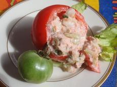 Tomatoes Stuffed With Tuna