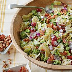 Broccoli, Grape, and Pasta Salad