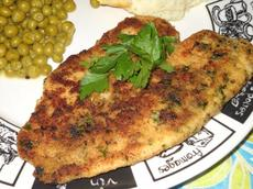 Garlic-And-Herb Oven Fried Halibut