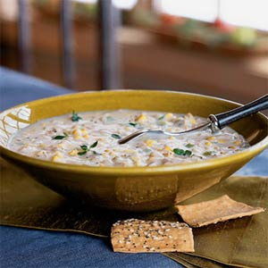 Quick Chicken-Corn Chowder