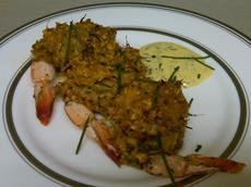 Baked Stuffed Shrimp with Crabmeat Stuffing