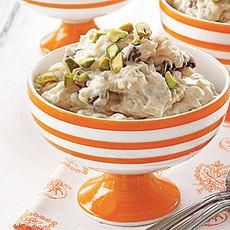 Vanilla-Chai Rice Pudding