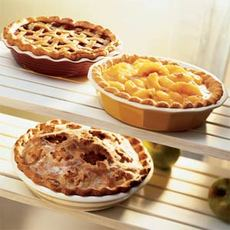 Mom's Raspberry-Rhubarb Pie