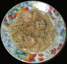 Delicious Penne With Scallops