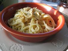 Spaghettini With Clam Sauce