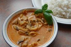 Scrumptious Thai Coconut Red Curry