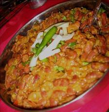 Kidney Bean Chili, Indian Style (Rajma in Masala)