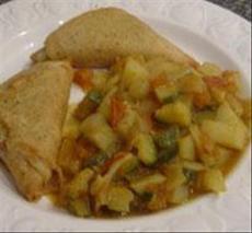 Potato & Zucchini Curry