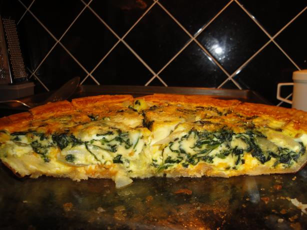 Spinach Quiche | Bottomless Bites
