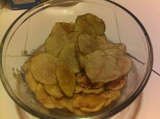 Homemade Low Calorie Potato Chips