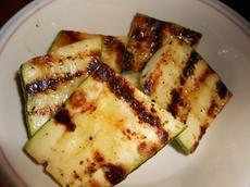 Quick BBQ Zucchini