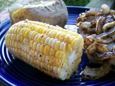 Honey Corn for the BBQ / Grill