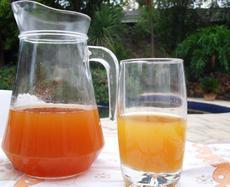 Rooibos, Fresh Apple, Ginger and Lemon Iced Tea