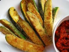Oven-Fried Zucchini Sticks