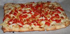 Naan Flatbread Pizza
