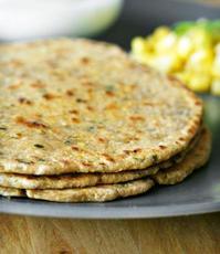 Indian Cornbread ( Makai Ki Roti)