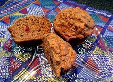 Matthew's Healthy Low Fat Vegan Carrot Spice Muffins